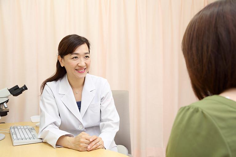 患者様のお話をしっかりお伺いします